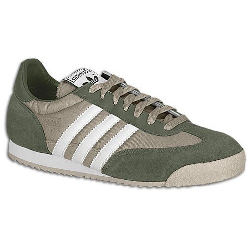 Buy Adidas Men's Dragon (sz. 11.5, Cyber Gold/White/Military) at ...