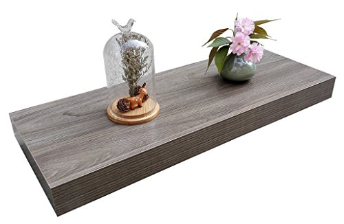 Homewell Wood Floating Wall Shelf For Home Decoration, 24