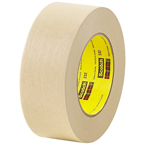 Partners Brand PT937232 3M #232 Scotch High Performance Masking Tape, 60 yd. Length, 2