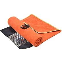 Sunland Microfiber Travel&Sports Microfiber Towels Swimming Towel Bath towels Fast Drying Absorbent Ultra w/ Carry Bag