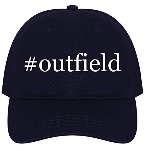 The Town Butler #Outfield - A Nice Comfortable Adjustable Hashtag Dad Hat Cap, Navy