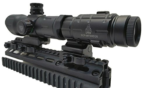 Cheap UTG Leapers 6″ Red Dot Sight and 3 x Flip to Side Magnifier Combo