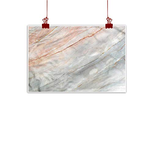 Sunset glow Outdoor Nature Inspiration Poster Wilderness Marble,Authentic Onyx Scratches 48