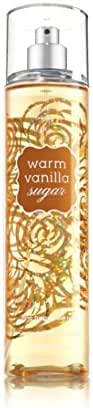 Bath and Body Works Warm Vanilla Sugar Fine Fragrance Mist, 8 Fl Ounce