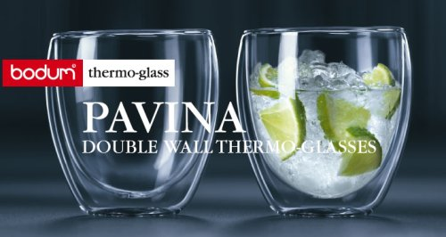 Bodum Pavina Double Wall Thermo Glasses  L
