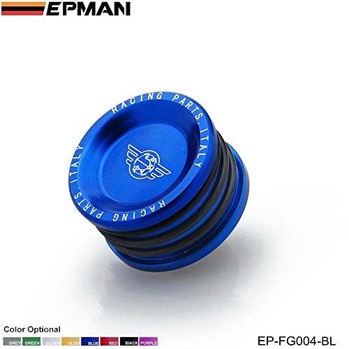 EPMAN Racing Engine Billet Cam Plug Seal Fit For Honda CRV B20 (Blue) (Billet Cam Plug)