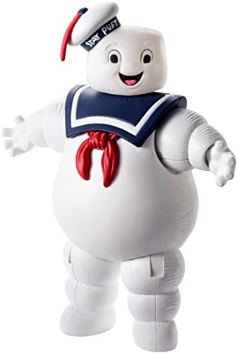Mattel DRT51 Ghostbusters Stay Puft Marshmallow Man Balloon Ghost Figure, 6-Inch]()
