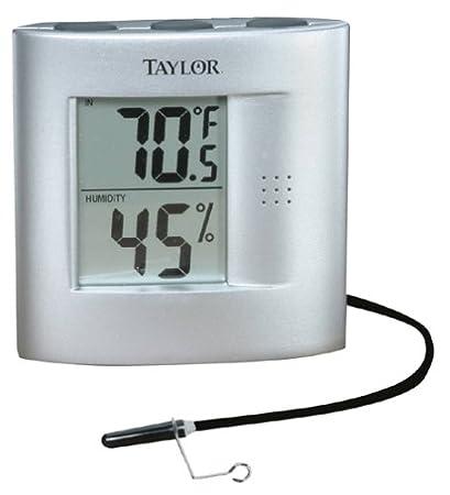 Taylor Indoor/Outdoor Thermometer with Indoor Humidity Gauge