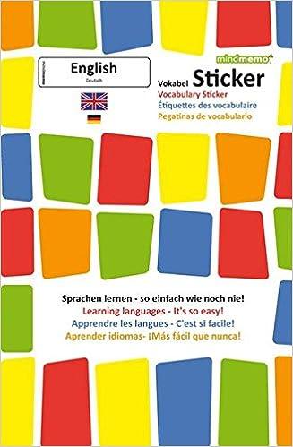 mindmemo vokabel sticker grundwortschatz englisch deutsch 280 vokabel aufkleber zusammenfassung 9783954130375 amazoncom books - Zusammenfassung English