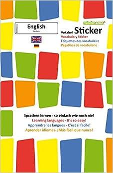 mindmemo vokabel sticker grundwortschatz englisch deutsch 280 vokabel aufkleber zusammenfassung turtleback - Zusammenfassung English