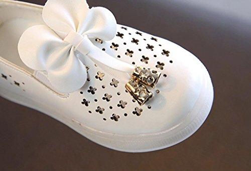 Transer Girls Hollow Butterfly Schuhe Prinzessin Wh