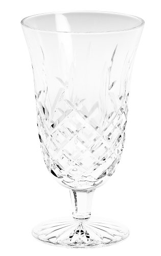 Waterford Crystal Araglin Footed Iced Beverage Glass, 14-Ounce (Waterford Crystal Iced Beverage Glass)