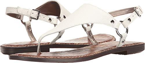 Sam Edelman Women's Greta, Bright White Leather, 6 M US ()
