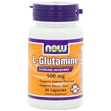 Now L-Glutamine (500mg) 60 caps