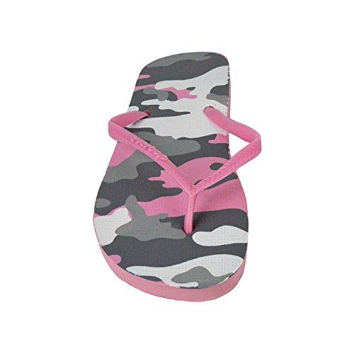 Gomma Colori Donna Fantasia 35 Rosa In Ciabatte 4 Pantofole Infradito Mws Mare 2073 Militare SxTZTwR