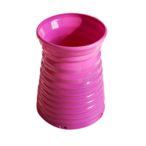 Pangxiannv Home Decor Nice Rattan Vase Basket Flowers Meters Orchid Artificial Flower Set Plastic Vase Flower Vase Durable Resin Flower Vase Set Decor, Vase Flower Vase Floor Vase Glass -