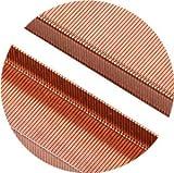 8Pcs Premium Standard Staples - Rose Gold 26/6
