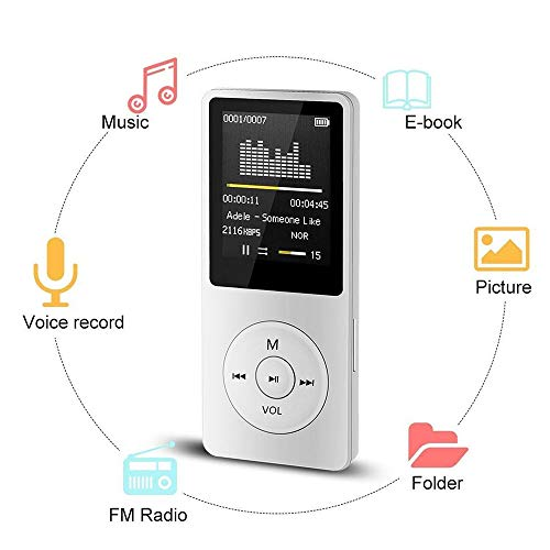 2018 Fashion Portable MP3 MP4 Player LCD Screen FM Radio Video Games Movie US