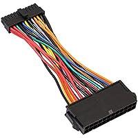 PandaCfee ATX PSU Estándar 24Pin Hembra a Mini 24P Macho Adaptador de Corriente Interna Cable Convertidor para DELL 780 980 760 960 PC