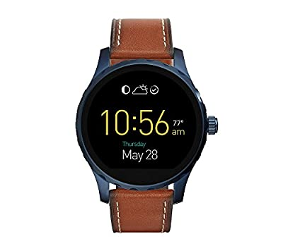 Fossil Gen 2 Smartwatch - Q Marshal Brown Leather
