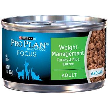 Purina Pro Plan Focus Weight Management Turkey Rice Entree C