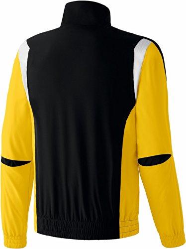 Homme jaune Erima One Premium Veste blanc Noir 7FTqF