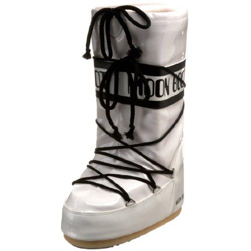 White Moon White Boot Black Moon Vinil Vinil Black Moon Boot Boot qtU5Rzw