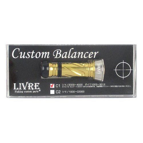 リブレ(LIVRE) カスタムバランサー シマノ・ダイワ共通 C1タイプ CB-CA1-TIG チタンG/ゴールドの商品画像