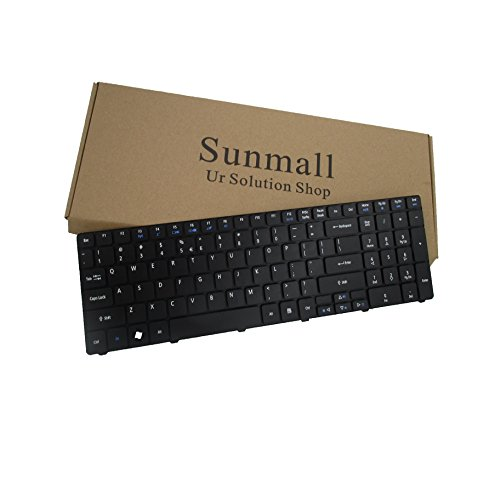 Sunmall Laptop Replacement Keyboard for Acer Aspire 5138 5236 5242 5250 5251 5252 5253 5333 5336 5338 5349 5350 5360 5410 5536 5538 5542 5551 5552 5553 5560 5625 5733 5736 5738 5810 Series US Layout