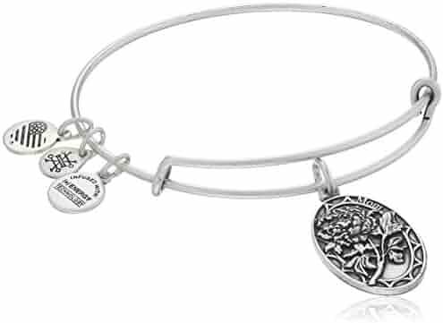 Alex and Ani Because I love you, Mom II Expandable Rafaelian Bracelet