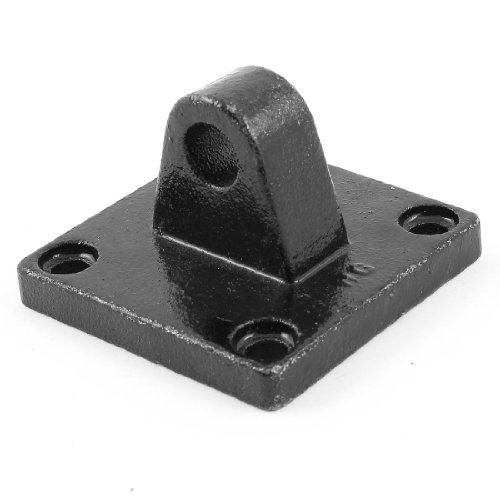 uxcell Air Cylinder Rod 75mm x 75mm Square Base Pivot Clevis Mounting Bracket
