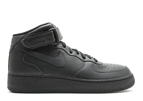 black air force ones mid top - 2