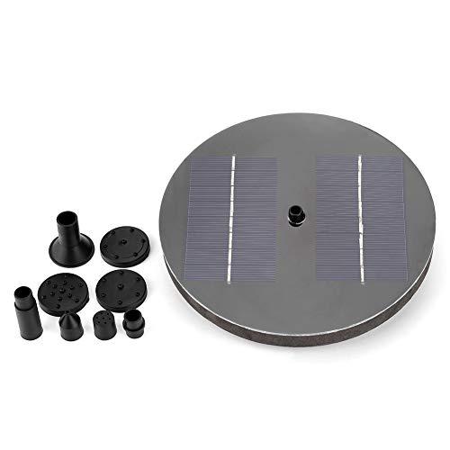 Bomba de la Fuente Solar Bomba Sumergible Accionada por Energía Solar Kit de Panel de la Bomba de Agua para Piscina de...