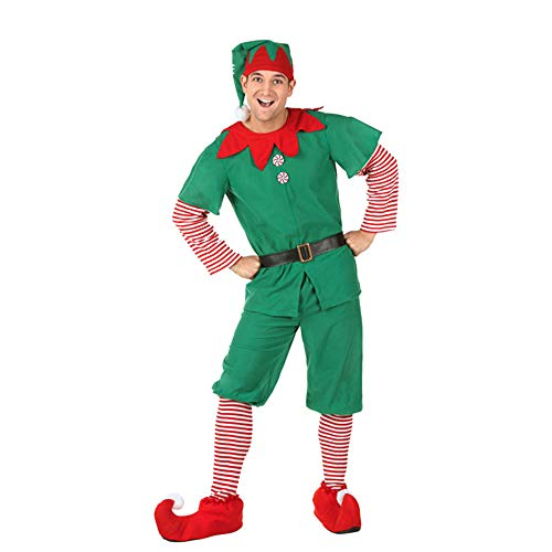 Giftroom Family Costume Children Adult Green Elf Christmas