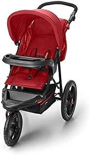 Carrinho de Bebê 3 Rodas Fisher Price Expedition TS Até 15Kg Vermelho - BB586