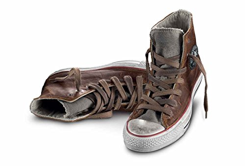 All Star Hi Canvas/Leather LTD - 1c16fa02 brown texas - (41.5, brown texas)