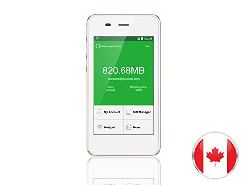 Bell SIM Card 4G/LTE Canada Mobile WiFi Hotspot Rentals 300MB/day - 10 Day by VISION GLOBAL WiFi
