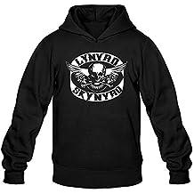 Xxfz Men's Lynyrd Skynyrd Ronnie Van Zant Black Medium Hoodie