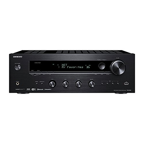 Onkyo TX-8160 2 channel Network Stereo Receiver with built in AirPlay, Wi-fi and Bluetooth Digital Audio Impedance Transformer