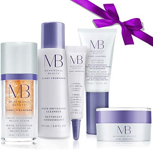 Meaningful Beauty  5-Piece Anti-Aging Starter System , For Lifting, Firming, Fine lines & Wrinkles
