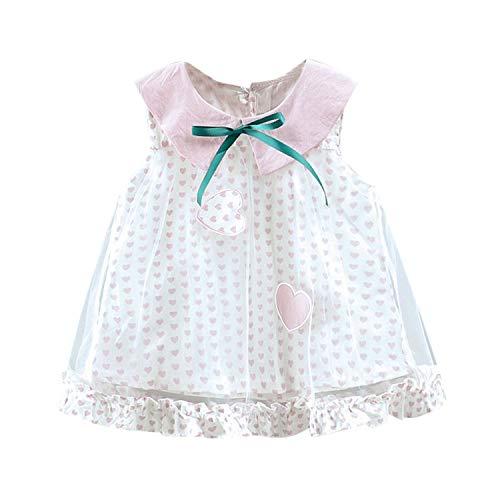 Baby Girl Dress Toddler Kid Baby Girl Dot