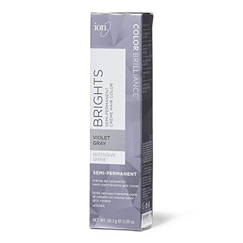 Ion Violet Gray Semi Permanent Hair Color Violet Gray (Best Semi Permanent Hair Color For Gray Hair)