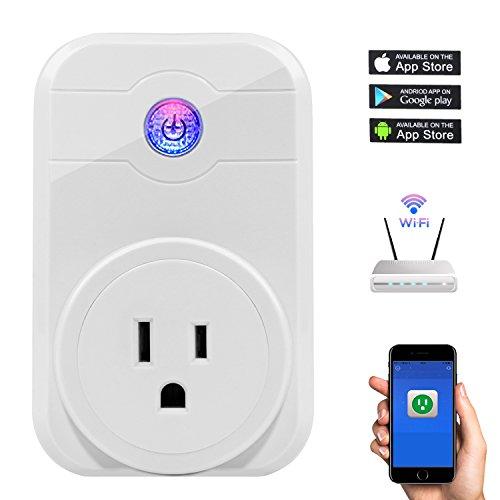 WiFi Smart Plug Socket Outlet US Plug | Wireless Outlet Socket Turn...