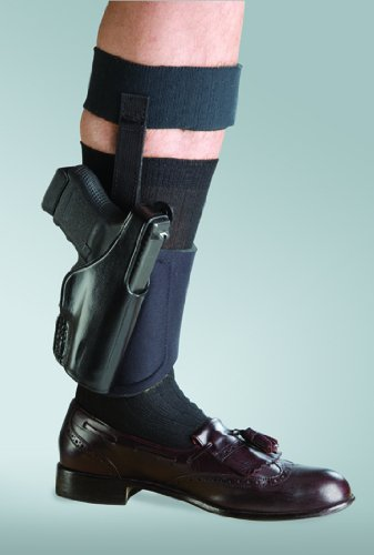 Bianchi 150 Negotiator Size 12 Ankle Holster Fits Glock 26/27 by Bianchi