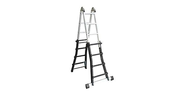 Skalar K-2 Escalera Telescópica, 4X4 peldaños: Amazon.es: Bricolaje y herramientas