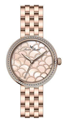 Lucien Piccard Ava Pink Dial Ladies Watch LP-28022-RG-99MOP