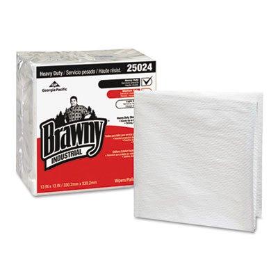 New Brawny Industrial Heavy-Duty 1/4-Fold Shop Towels 25024 (1 Case)