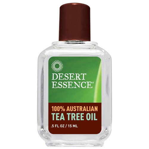 Desert Essence 100 Percent Pure Australian Tea Tree Oil, 0.5 Ounce - 6 per case.