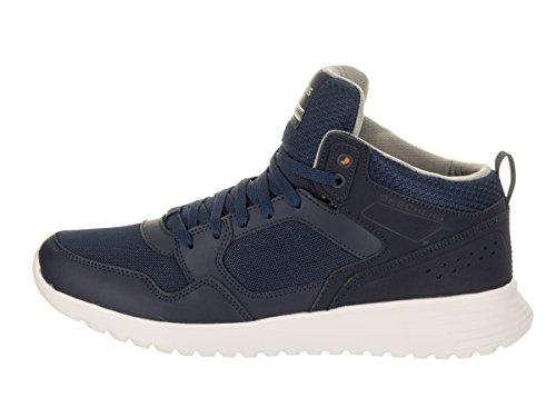 Men's Zimsey Ankle High Navy Warmack Sneaker Fashion Skechers Mesh 7w1q6CC