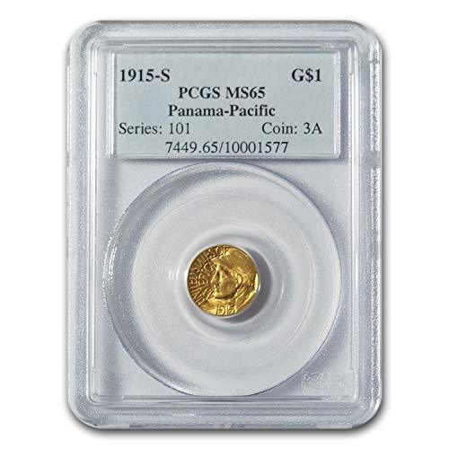 1915 S Gold $1.00 Panama-Pacific MS-65 PCGS G$1 MS-65 PCGS